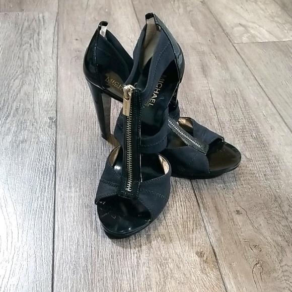 MICHAEL Michael Kors T-Strap Berkley Heels